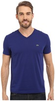 Lacoste S/S Pima Jersey V-Neck T-Shirt Men's Short Sleeve Pullover