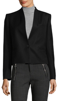 Isabel Marant Ivah Stand Collar Wool Blazer