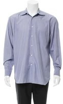 Ermenegildo Zegna Windowpane Button-Up Shirt