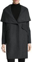 Derek Lam 10 Crosby Wool Convertible Collar Coat