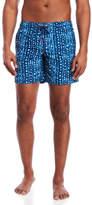 Sundek Elastic Waist Zip Pocket Board Shorts