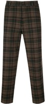 YMC Hand Me Down checked trousers