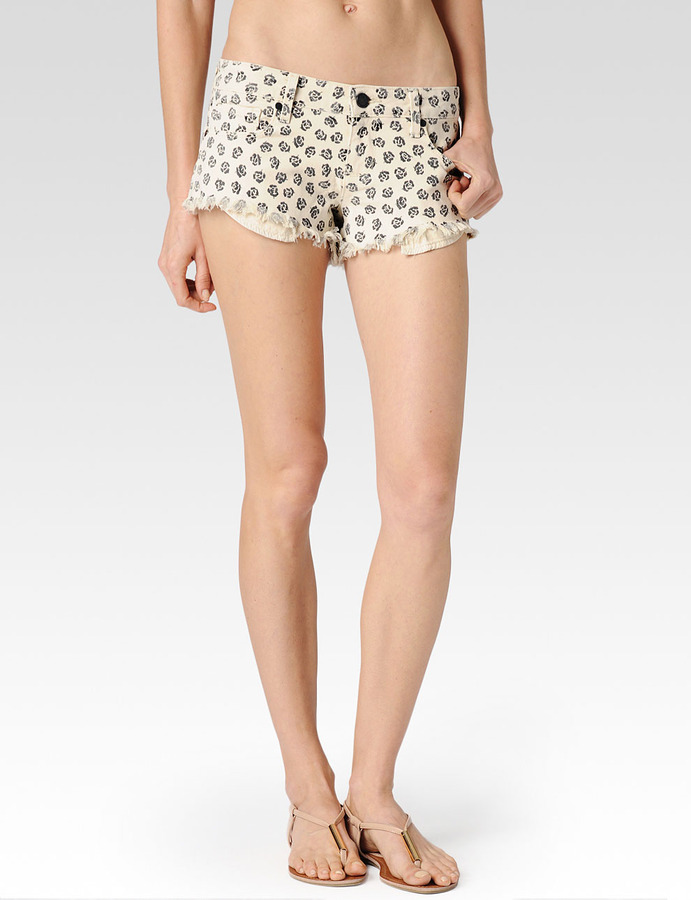 Paige Echo Park Short / Black Rose