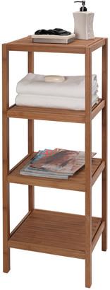 Creative Bath 4 Shelf Bamboo Tower