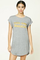 Forever 21 FOREVER 21+ You Are Magical Nightdress