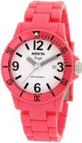 Invicta Women's Angel Dial Pink Plastic Watch 1209