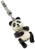 Juicy Couture Panda Bear Charm - Special Pink & Silver Striped Box Collection