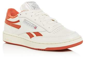 Reebok Men's Club C Revenge Leather Low-Top Sneakers