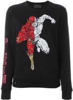 Philipp Plein Flash embroidered sweatshirt