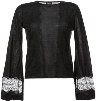 Giambattista Valli Bell-Sleeve Sweater