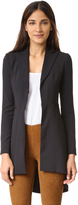 Alice + Olivia Jordyn Collared Back Pleat Blazer