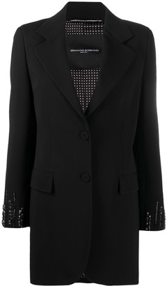 Ermanno Scervino Embellished Single-Breasted Blazer
