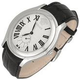 Versace Bond Street -Men's Black Crocodile Leather Watch