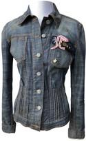 John Galliano Blue Denim - Jeans Jacket for Women