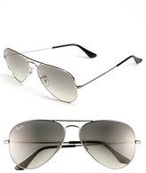 Ray-Ban Women's 'Original Aviator' 58Mm Sunglasses - Black