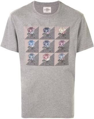 Kent & Curwen short sleeve floral print T-shirt
