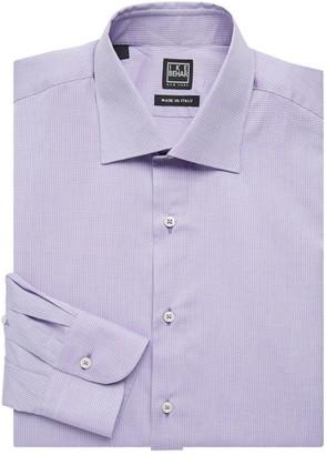 Ike Behar Ike By Regular-Fit Mini Dot Cotton Dress Shirt
