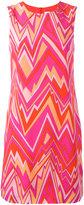 M Missoni zig-zag print shift dress - women - Silk/Polyester - 40