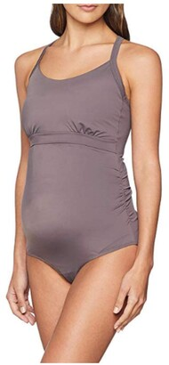 Boob Women's Adjustable Breast-Feeding Maternity Swimsuit with Easy Nursing Access and Sun Protection (S