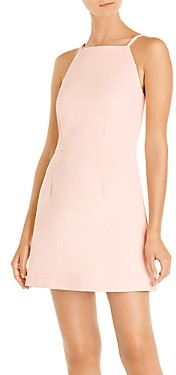 French Connection Whisper Square Neck Mini Dress