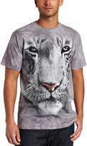 The Mountain Men's White Tiger Face Shirt