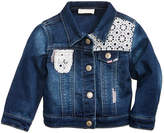 First Impressions Crochet Denim Jacket, Baby Girls, Created for Macy's