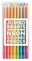 Jumbo Brights Neon Color Pencils