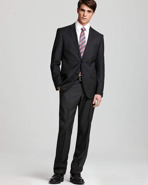 d366aef8 Hugo Boss Grey Suit - ShopStyle