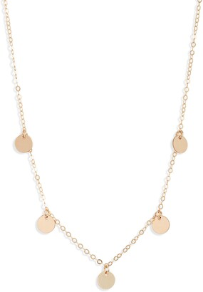 Set & Stones Quinn Disc Choker Necklace
