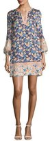 Rebecca Taylor Gigi Floral-Printed Shift Dress