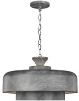 "ED Ellen Degeneres Crafted By Generation Lighting Haymarket 1-Light Single Dome Pendant crafted by Generation Lighting Size: 10.13"" H x 18.13"" W x 18.13"" D"