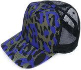 DSQUARED2 leopard print baseball cap - men - Polyester - One Size
