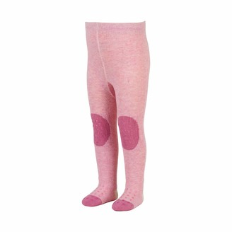 Sterntaler Baby Girls' Collant Pour Cuddly Zoo Crawling Tights Cute Lotte Lama Design Age: 12-18 Months