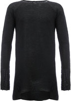 Masnada thumb sleeves slim-fit jumper - men - Polyamide/Alpaca - L