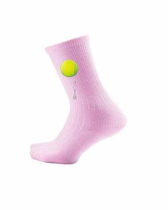 Thorlos Junior's Express Yourself Tennis Crew Socks