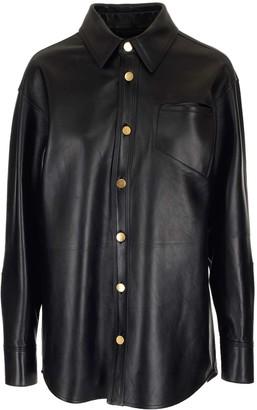 Bottega Veneta Leather Shirt