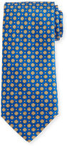 Stefano Ricci Neat Floral-Print Silk Tie