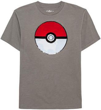 Pokemon Novelty T-Shirts Reverse Sequin Tees Boys Round Neck Short Sleeve Graphic T-Shirt - Preschool / Big Kid