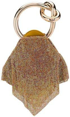 Benedetta Bruzziches Casper sequin clutch bag