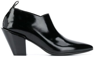 Marsèll Patent Ankle Boots