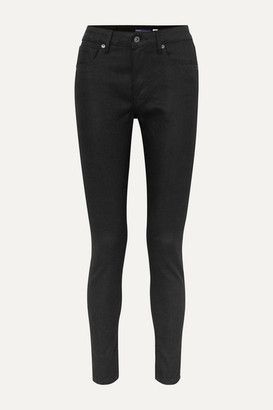 Levi's Made & Crafted 721 Cropped High-rise Skinny Jeans - Black