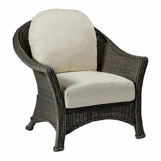 3.1 Phillip Lim Summer Classics Regent Lounge Patio Chair with Cushions Summer Classics Frame Color: Regent #31 Slate Gray, Cushion Color: Snow Leopard Dove