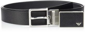 Emporio Armani Men's Designer Belt Gift Box