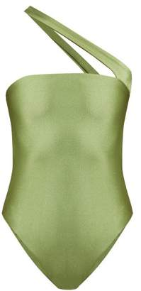 JADE SWIM Halo Bandeau Swimsuit - Womens - Green