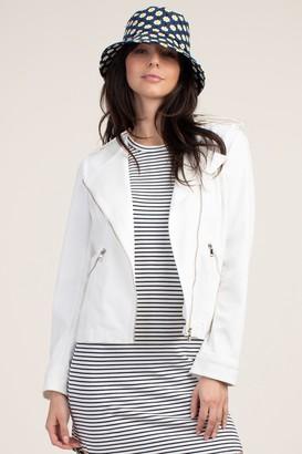 Trina Turk Perfect White Jean Jacket