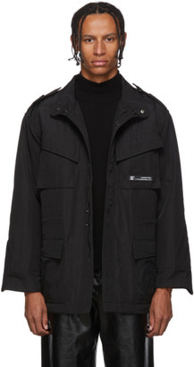 Xander Zhou Black Tech Jacket