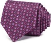 Salvatore Ferragamo Textured Gancini Neat Classic Tie