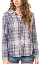 O'Neill Plaid Button-Front Shirt