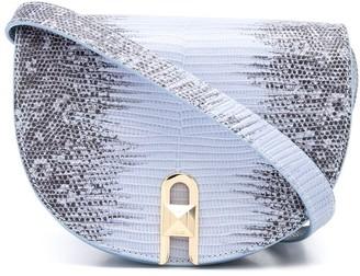 Salar Frida lizard effect shoulder bag