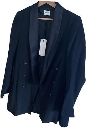 Bel Air Black Viscose Jackets